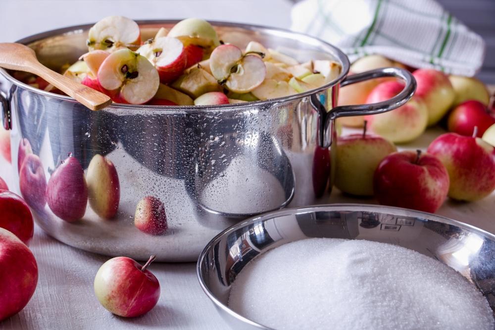 Jablkový lekvár na zimu4