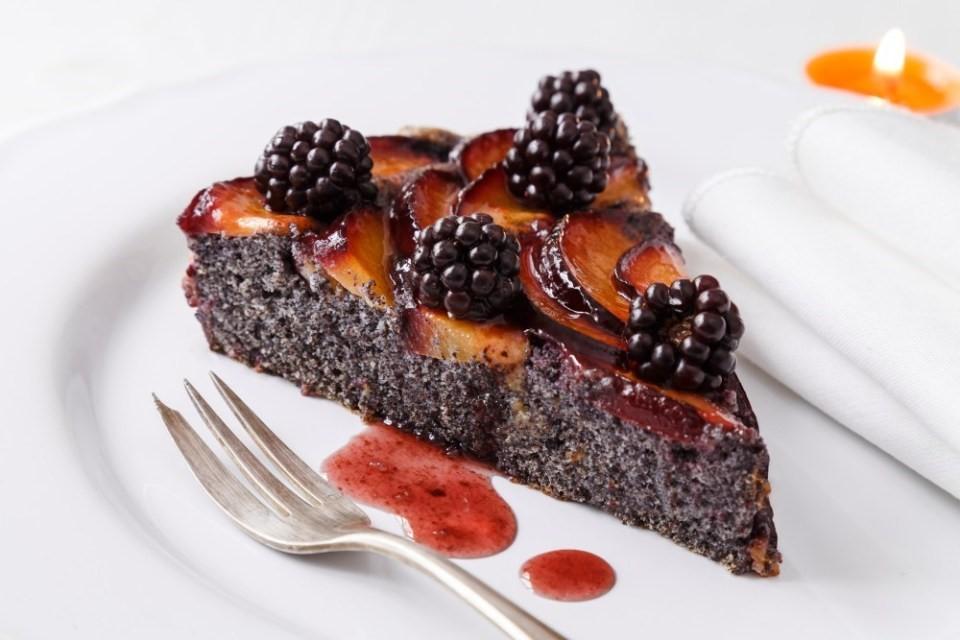 Čierny halloweensky koláč 4