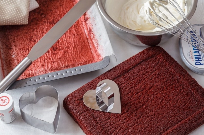 Červený samet alebo red velvet cake 2