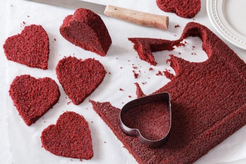 Červený samet alebo red velvet cake 3