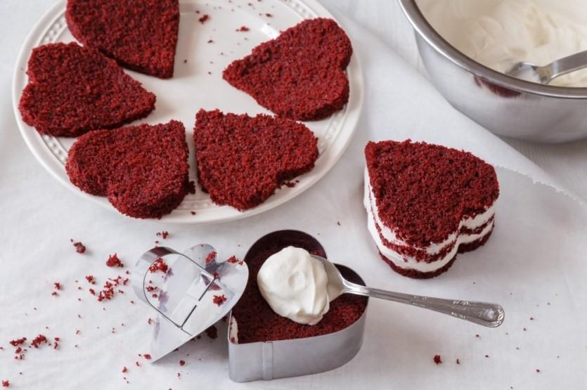 Červený samet alebo red velvet cake 4