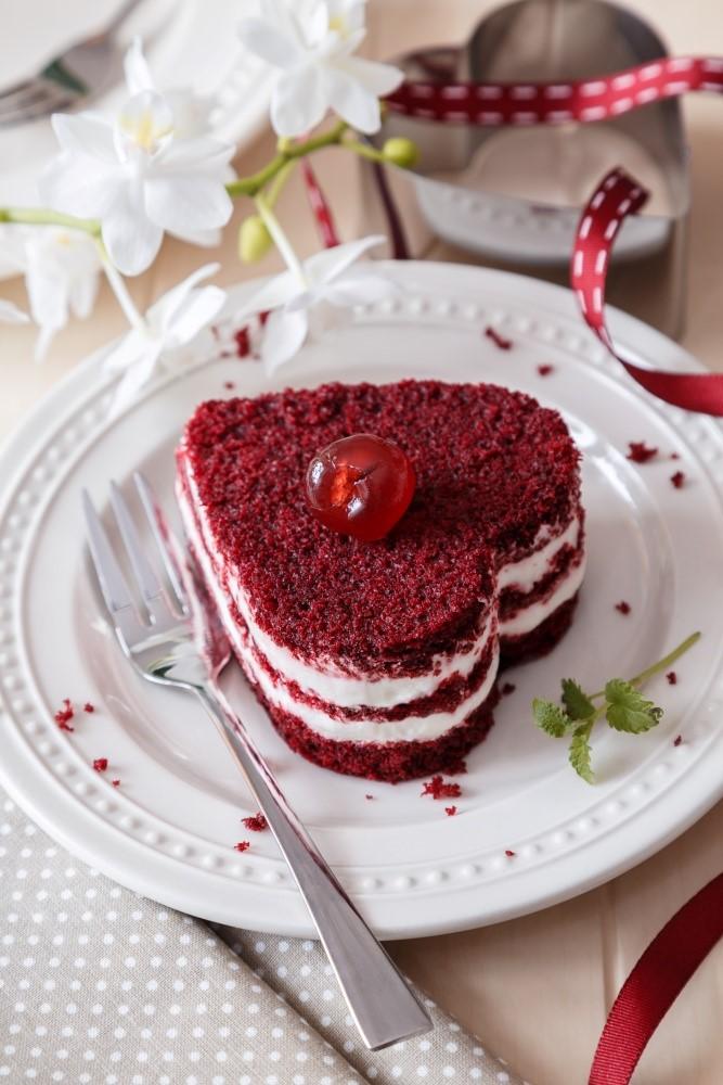Červený samet alebo red velvet cake 5