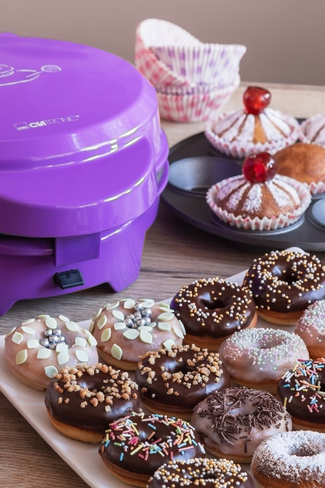 Tri sladkosti z pekárne Clatronic + video 3
