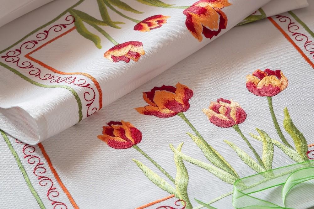 Textil jarou maľovaný3