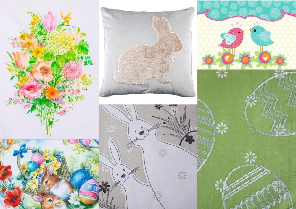 Textil jarou maľovaný4