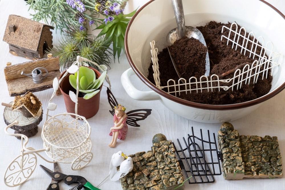 Mini záhradky v miskách 2