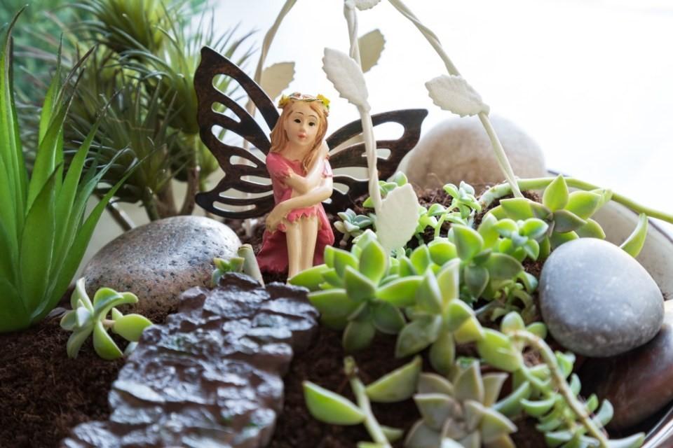 Mini záhradky v miskách 4