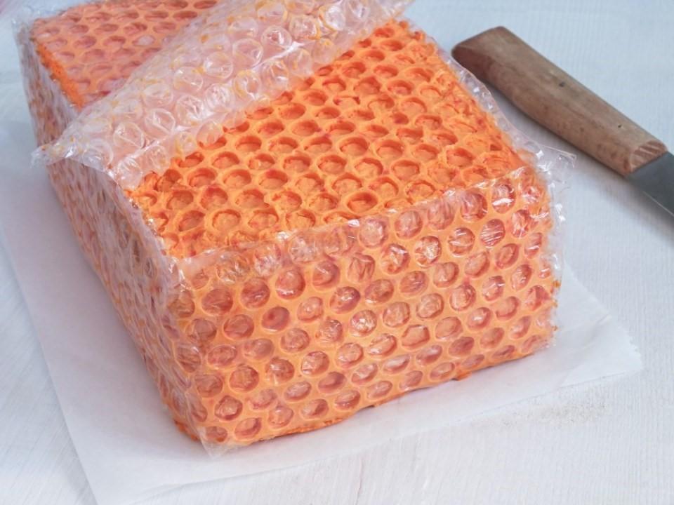 Medový plást z krému4