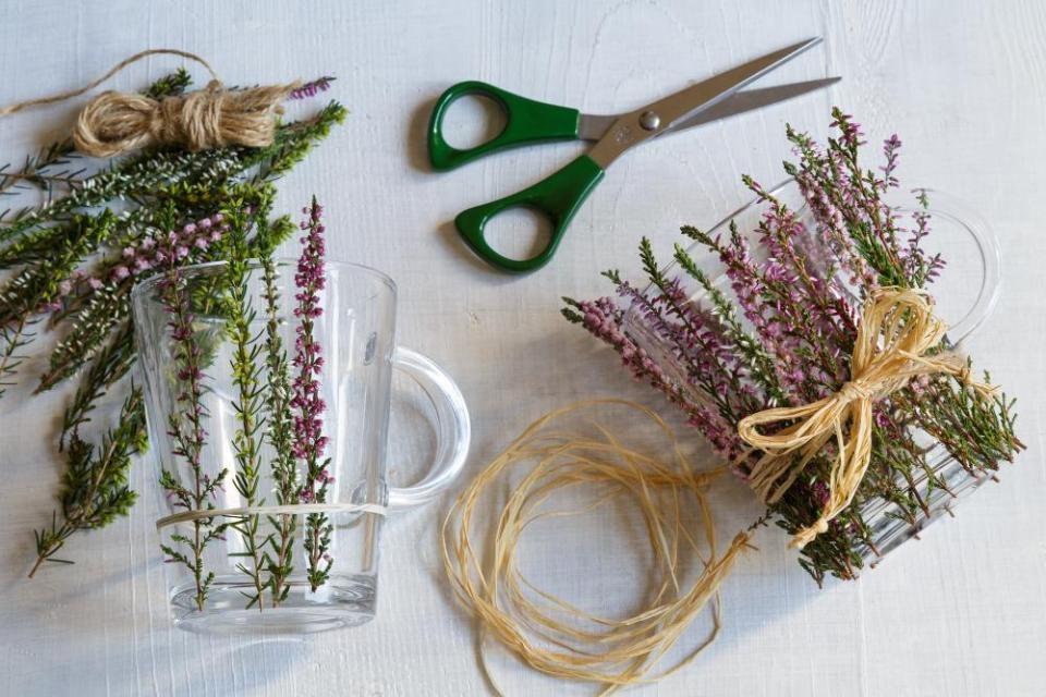 Svietniky z pohárov na čaj 3