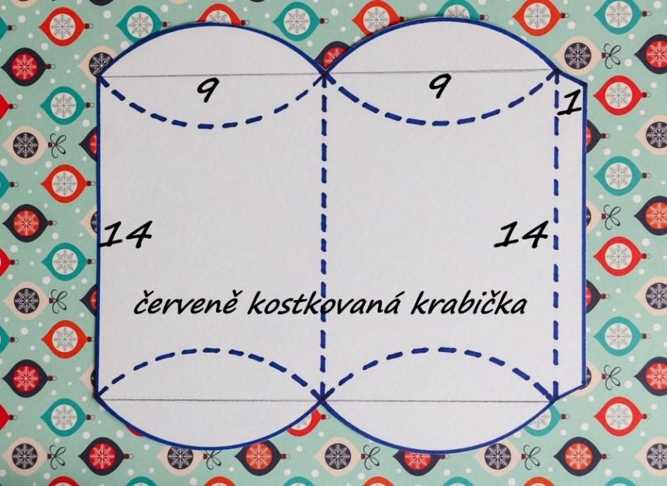 Rýchlo krabička + šablóna 3