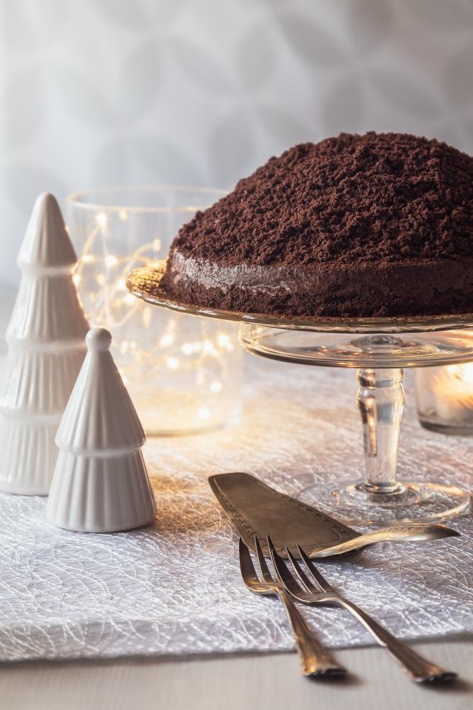 Novoročná lanýžová torta 2