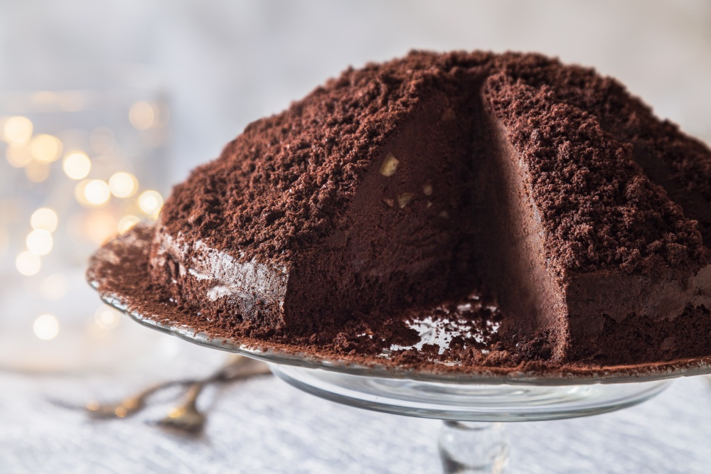 Novoročná lanýžová torta 5