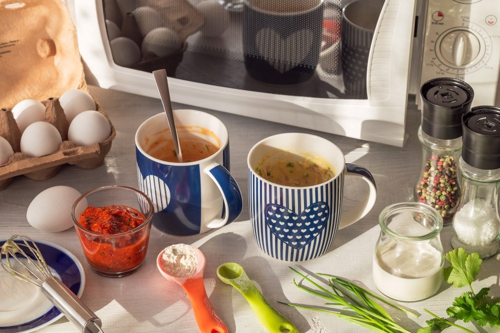 Mug cakes alebo slaná desiata z mikrovlnky 3