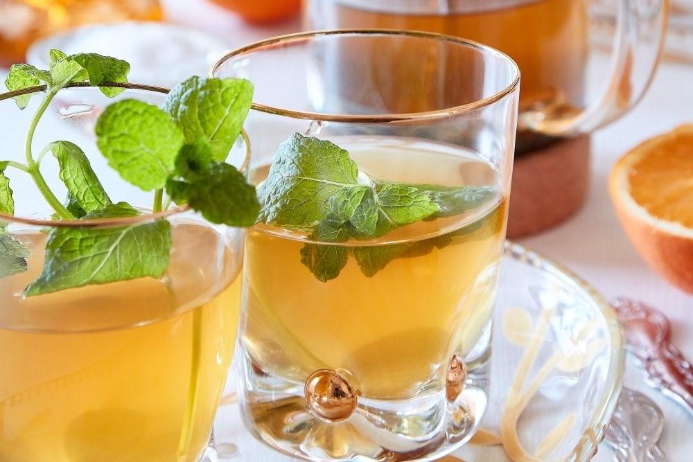 Marocký mätový čaj z French press 5