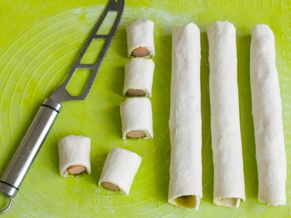 Plnené jednohubky s bazalkovým pestom 4