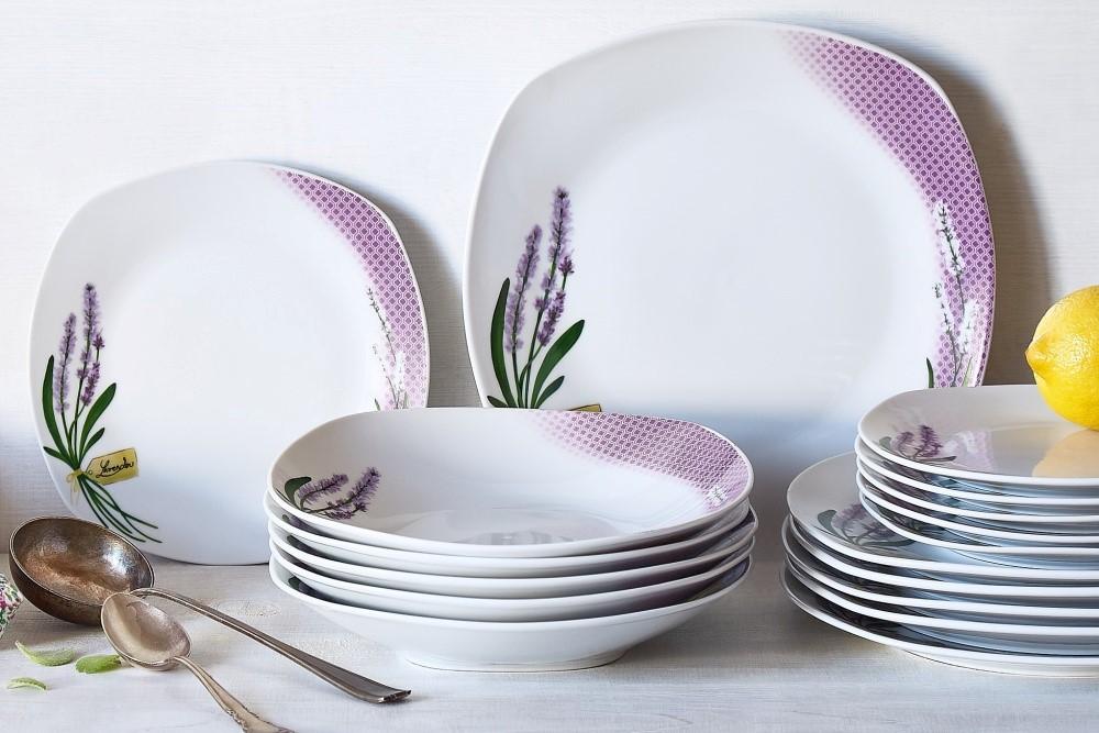Domáce bagety a taniere s levanduľou 6
