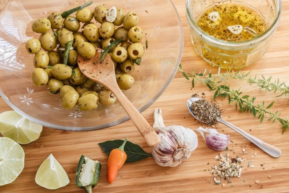 Nakladané olivy 2