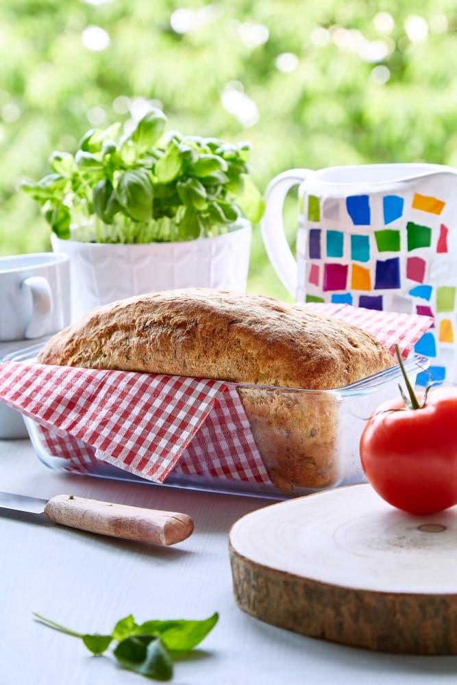 Bylinkový cuketový chleba 2