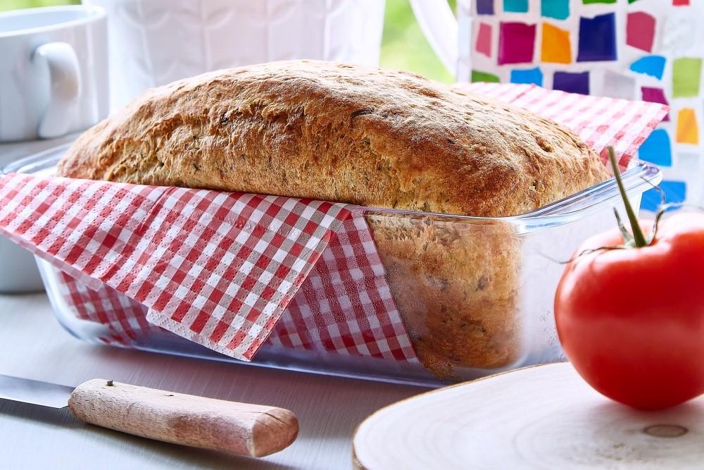 Bylinkový cuketový chleba 5