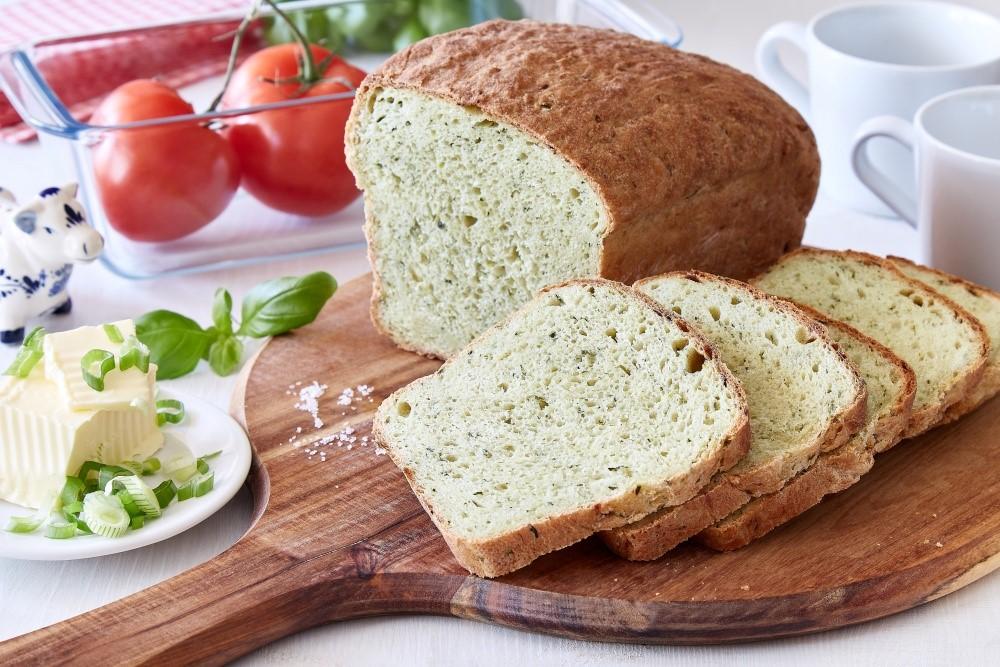Bylinkový cuketový chleba 6