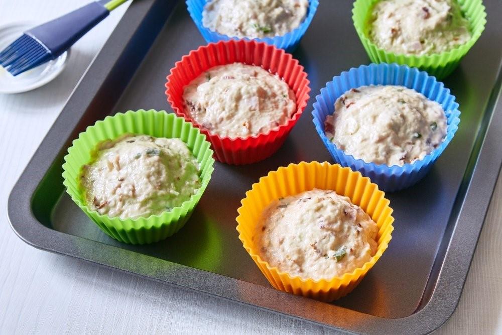 Muffiny so sušenými paradajkami 4