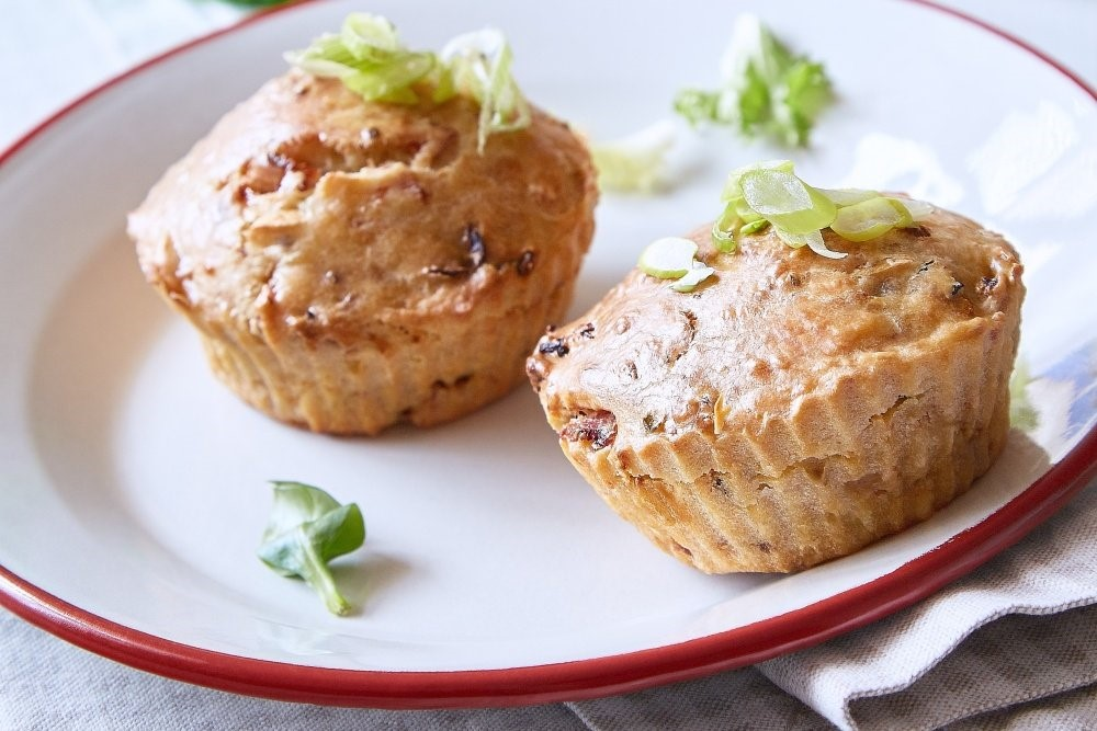 Muffiny so sušenými paradajkami 5