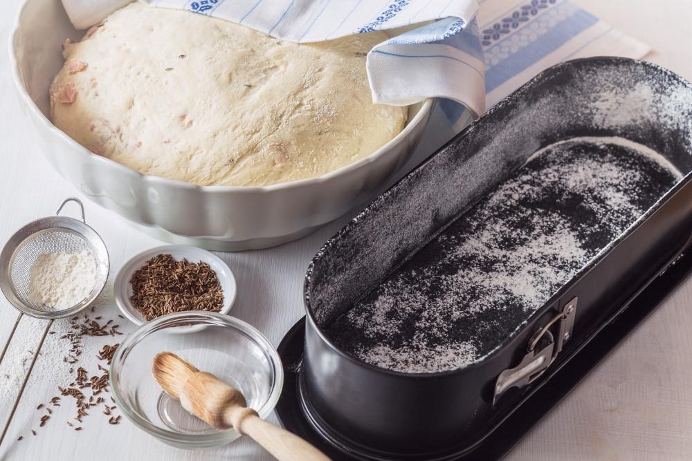 Chlieb so špaldou a údeným mäsom 4