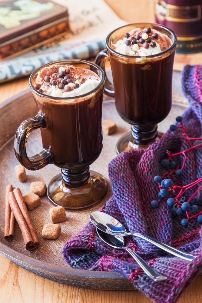 Horúca krémová čokoláda s perníkovým korením 2