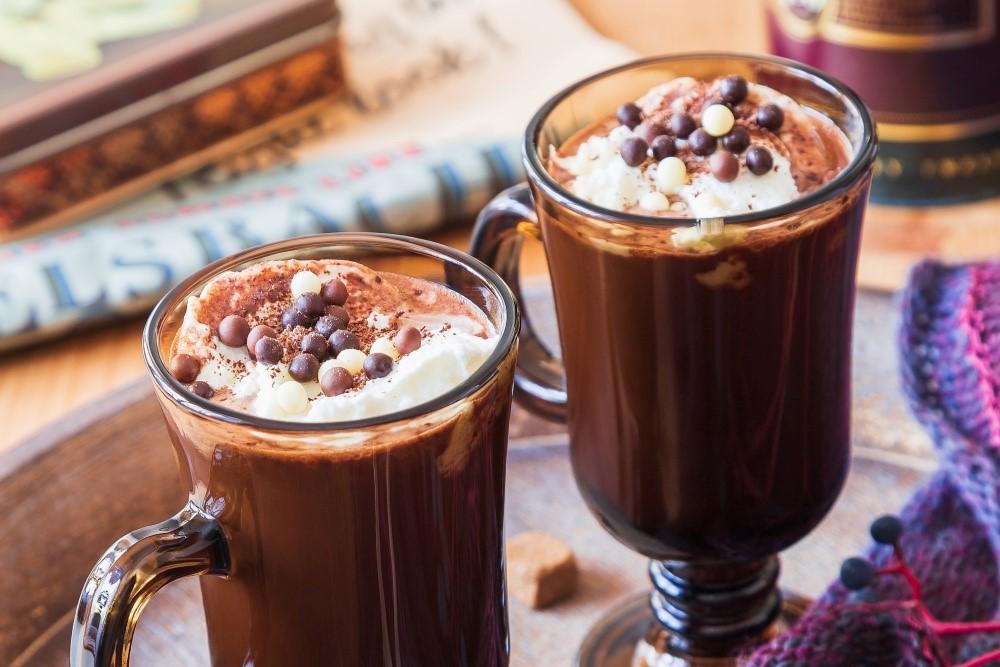 Horúca krémová čokoláda s perníkovým korením 4
